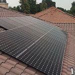 EcoSolar Thinh N. Client Roof Solar Installed