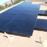 EcoSolar Kilven Le Client Roof Solar Installed