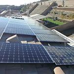 EcoSolar Client Roof Solar Installed