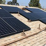 EcoSolar Thinh Client Roof Solar Installed