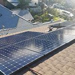 EcoSolar Cathy Luu Client Roof Solar Installed